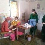 पीरन पंचायत में 18 बच्चों और सात गर्भवती महिलाओं को लगाए टीके
